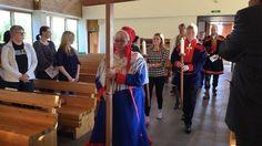 Inarissa vietettiin maanantaina sairaanhoitajadiakonissa-koulutuksen avajaisia.