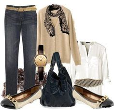Camel color fall outfit