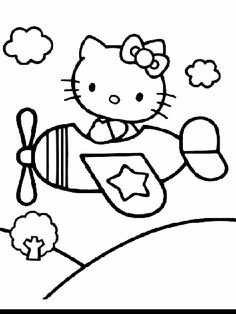 Hello Kitty Coloring Pages 49