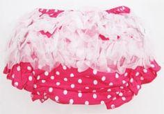 Pink polka dot bloomers