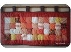Cabeceira em patchwork