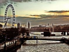 London, Thames, bridges, Along The Way, Bridges, Opera House, London, Building, Travel, Viajes, Buildings, Bridge