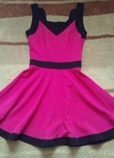 Kup mój przedmiot na #vintedpl http://www.vinted.pl/damska-odziez/krotkie-sukienki/13179005-rozowa-dziewczeca-sukienka-na-ramiaczka