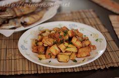 Tofu and baby corn stir fry