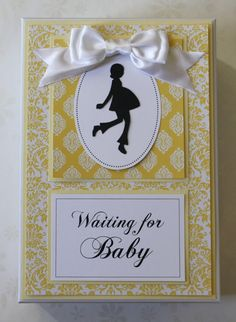 Waiting for Baby Pregnancy Keepsake Box. I am definitely doing this to keep all the records, photos and things that I treasured but never managed to display properly :-) Waiting For Baby, Pregnancy Labor, Future Children, Keepsake Boxes, Picture Ideas, Shower Ideas, How To Memorize Things, Scrapbooking, Craft Ideas