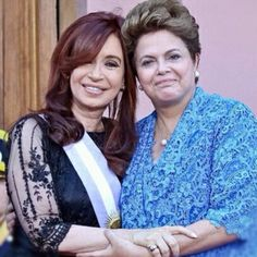 Cristina e Dilma, mulheres da América.