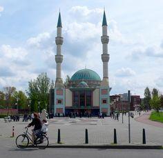 Mevlana Mosque in Rotterdam, Netherlands