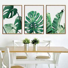 Vintage Wall Art, Vintage Walls, Types Of Art Styles, Pineapple Art, Canvas Wall Decor, Canvas Art, Nordic Art, Leaf Wall Art, Minimalist Home Decor