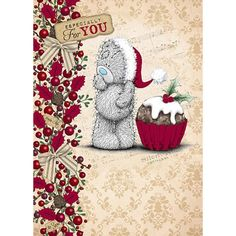 Especially For You Me to You Bear Christmas Card