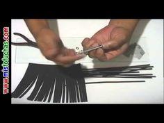 FOFUCHA ------ Cómo cortar cientos de pelos en foamy para muñecas fofuchas rapidísimo
