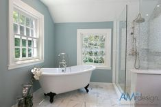 Top 16 Benjamin Moore Paint Colors  Yarmouth blue is one of the best light blues out there. Paint your bathroom with it for that extra calming effect.