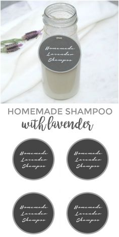 Homemade Shampoo wit