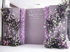 浪漫紫色蝴蝶主题婚礼-国外案例-DODO...