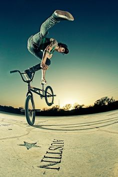 Rad BMX photo that INRUSH bicycle shop in fort wayne indiana has came across.