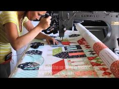 Machine Quilting - In the Studio With Natalia Bonner - YouTube