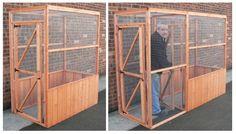 small aviary   Ref: AAP6 ( Back to Aviaries & Aviary Panels )