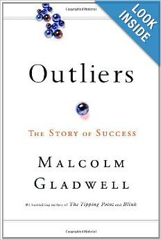 """Libby in Marketing found Malcolm Gladwell's """"Outliers"""" a fascinating look into the factors that align to create extraordinary success. #bookclub"""