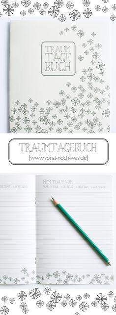 DIY Traumtagebuch zum Selberdrucken - pdf freebook