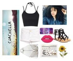 """Who's going to Cocachella this year"" by maddysleepy ❤ liked on Polyvore featuring Topshop, Casetify, Rebecca Minkoff, Lime Crime and Mystique"