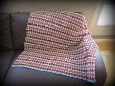 This was fun to make! Blanket, Crochet, How To Make, Fun, Blankets, Knit Crochet, Crocheting, Comforter, Chrochet