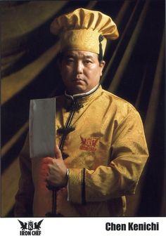 Chen Kenichi, Japanese-Chinese Chef (January 5, 1956; Tokyo, Japan)