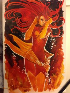 Dark Phoenix, in Gary Macindoe's My Gallery Comic Art Gallery Room - 983380