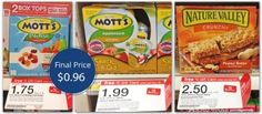 Coupon Reset: Mott's Applesauce Pouch 4-Packs, Only $0.96 at Target!