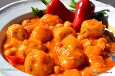 Inšpiroval ma taliansky recept s fazuľou. Nahradila som ju cícerom a upravila na naše chute.