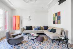 Reforma integral de un piso modernista con carácter industrial | vilablanch. Estudio de arquitectura interior situado en Barcelona. Proyectos de restauración, llave en mano y para promotoras