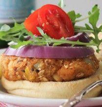Flavorful Chickpea and Quinoa Veggie Burgers