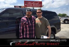 Congratulations to Edward Belfour on your #Ford #Excursion purchase from Sue Elliott at Rockwall Auto Direct! #NewCar