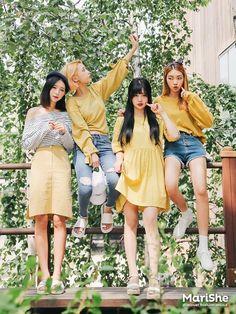 Korean Fashion – How to Dress up Korean Style – Designer Fashion Tips Korean Fashion Trends, Korean Street Fashion, Korea Fashion, Asian Fashion, Korean Beach Fashion, Cute Fashion, Look Fashion, Girl Fashion, Fashion Outfits