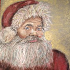 Santa painting by my daughter!