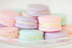 Pastel macaroons food cookies cookie pastel macaroons