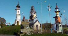 musée du poète ferrailleur le tourisme en Morbihan Bretagne, parc de loisirs, sculptures animées, automates à Lizio
