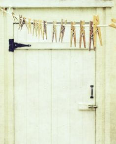 If we live somewhere warm in the summers, i would like to hang my clothes out to dry