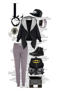 """""""WHoa"""" by allisjess ❤ liked on Polyvore featuring Topshop, Converse, New Look and NIKE"""
