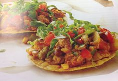 Tangy Turkey Tostadas   Kelley Cox: The Fit Chick Diaries
