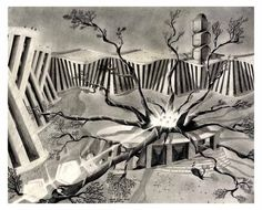 'The Azraa Tree Square' Pencil Drawings, Moose Art, Painting, Animals, Animales, Animaux, Painting Art, Paintings, Animal