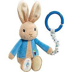 Beatrix Potter - Peter Rabbit pram toy
