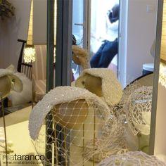 Los tocados de novia by nila taranco, esperando a ser fotografiados...