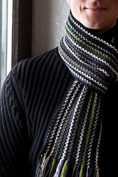 Ravelry: Rikoras Mens Crochet ScarfVer.2