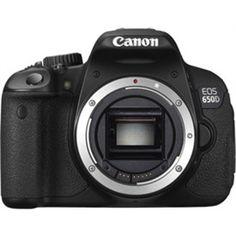 Canon EOS 650D SLR (18 55 IS III)  18.0 megapixel Camera, CMOS Image Sensor, 3 inch TFT Colour Liquid-crystal Monitor Touch Panel,    Full HD Recording, https://www.magickart.com/