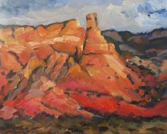 """HILLS OF ABIQUIU"" 8x10"" oil SOLD Art Paintings For Sale, Oil"