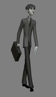 Paperman - model by Chad Stubblefield
