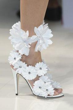 Crazy daisy heels