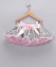 Light Pink Cheetah Pettiskirt - Infant, Toddler & Girls by Itty Bitty: Infant Apparel on #zulily