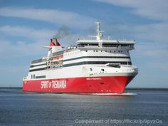 The Spirit of Tasmania sailing across the Bass Strait from Melbourne to Tasmania compliments of  https://flic.kr/p/9pvxQs