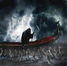 The Ferryman - mythology, Styx, ferryman, souls