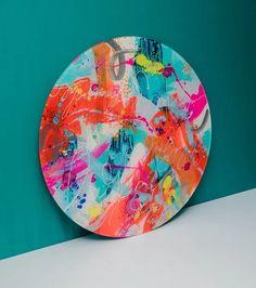 Original art by Cursive Art Studios Technique: Reverse acrylic below a sheet of acrylic Dimensions: 60 cm dia Abstract Expressionism, Abstract Art, Acrylic Sheets, Cursive, Art Studios, Graphic Art, Original Art, Texture, The Originals
